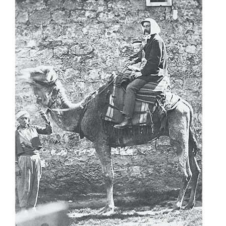 Olana-26a-Frederic-Church-on-a-Camel-notecard