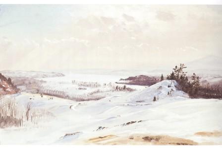 600 dpi winter scene